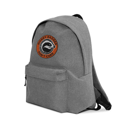 Honey Badger Don't Care Backpack - satstackers