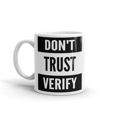 Don't Trust Verify Mug - satstackers