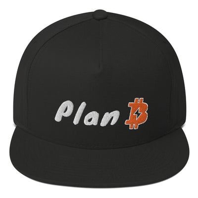 Bitcoin Plan B - 5 panel hat - satstackers