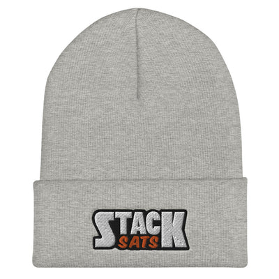 Stack Sats Beanie Hat - satstackers
