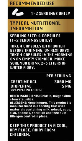 Aces-Labs Level-Up Creatine HCL