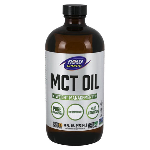 Essential Fatty Acids NOW Foods Sports MCT Oil [470ml]
