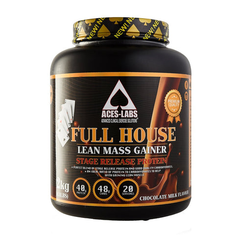 Aces-Labs Full House Lean Mass Gainer [2kg]