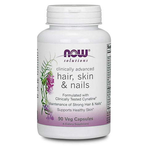 Hair, Skin & Nails NOW Foods Solutions Hair Skin & Nails [90 Caps]
