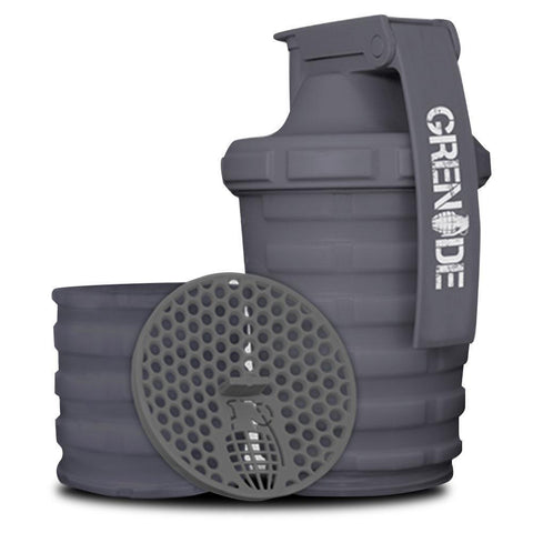 Grenade Shaker Gun Metal Grey [600ml]