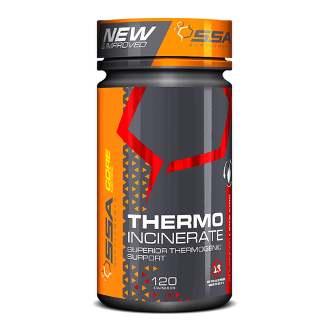 SSA Supplements Thermo Incinerate [120 Caps]