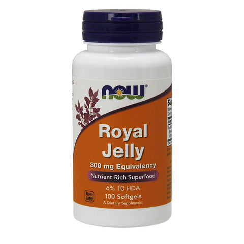 Superfood NOW Foods Royal Jelly 300mg [100 Gels]