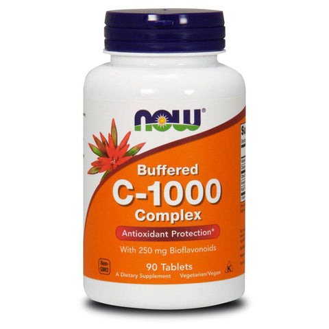 Vitamin C NOW Foods C-1000 Complex Buffered [90 Tabs]