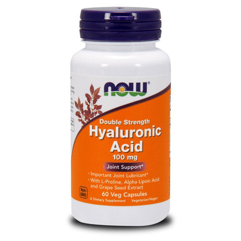 Vitamins & Minerals NOW Foods Hyaluronic Acid 100mg [60 Caps]