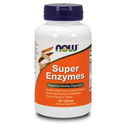 Vitamins & Minerals NOW Foods Super Enzymes [90 Tabs]