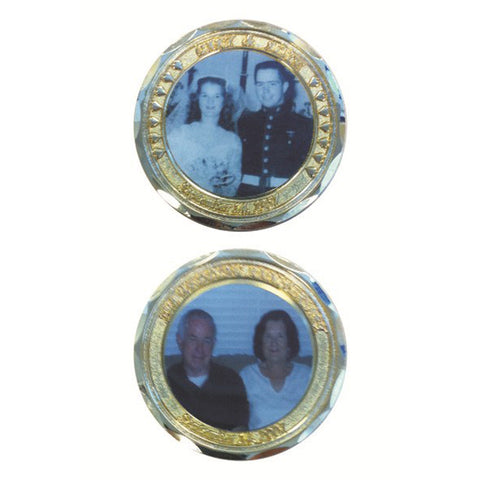 COIN W/PHOTO INSERT