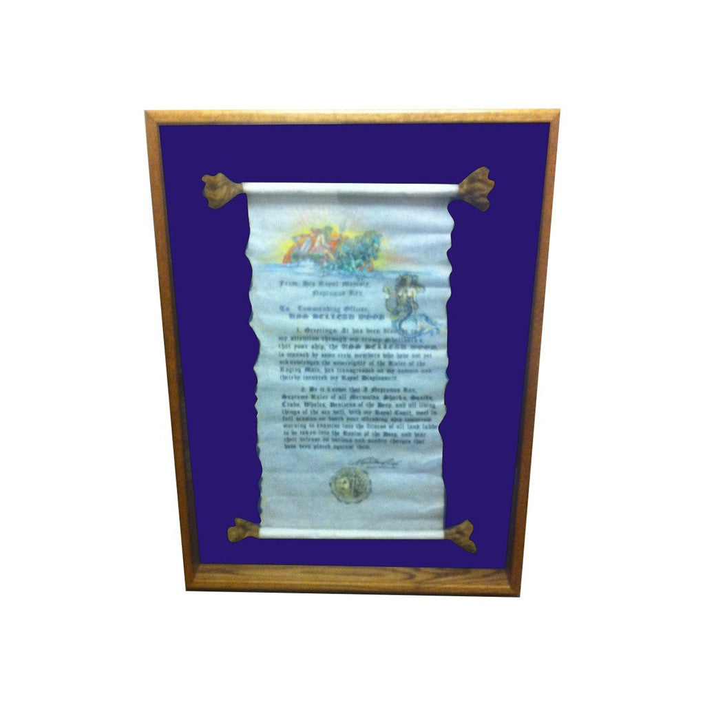 Scroll Shadow Box