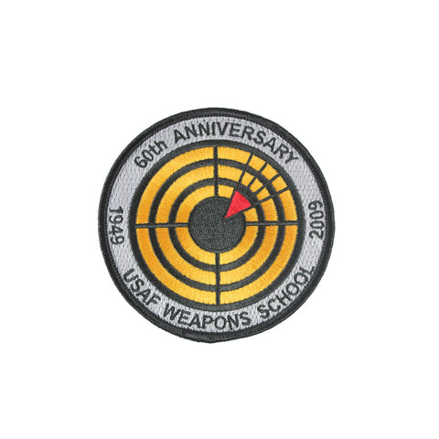 WEAPONS SCHOOL 60TH ANNIVERSARY PATCH