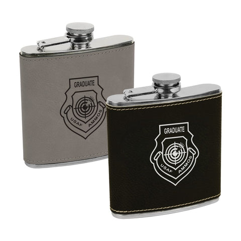 AMMOS LEATHERETTE FLASK
