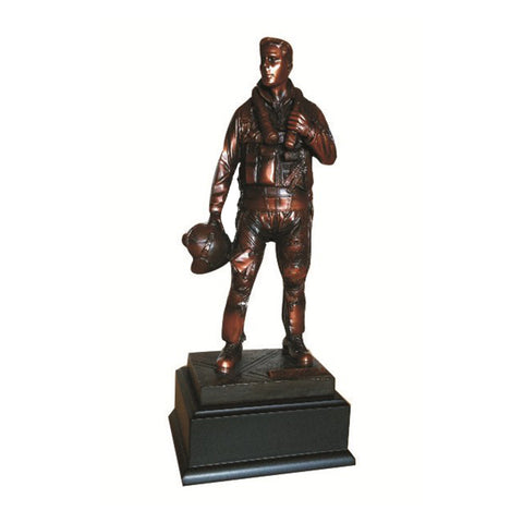 AIR FORCE PILOT STATUE