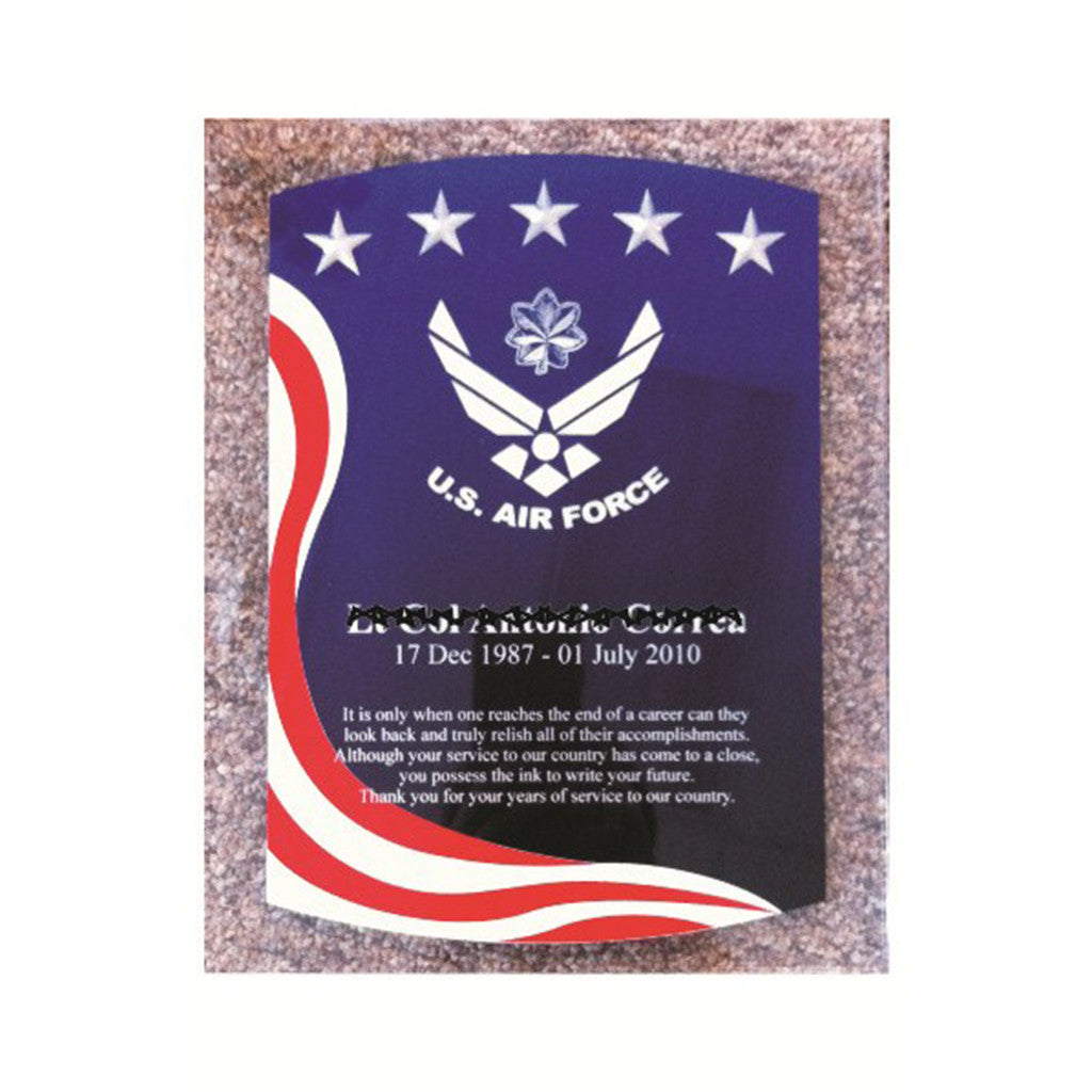 AMERICAN SPIRIT WALL PLAQUE