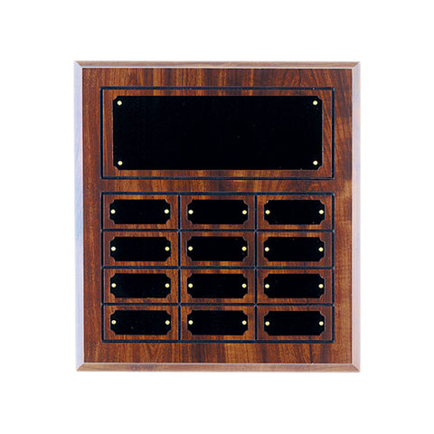DARK FINISH PERPETUAL PLAQUE