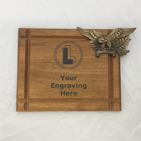 Plaque with Eagle - Clearance