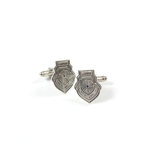 WEAPONS SCHOOL GRAD PATCH CUFFLINKS