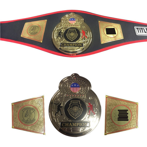 CHAMPIONSHIP BELT DECORATIONS