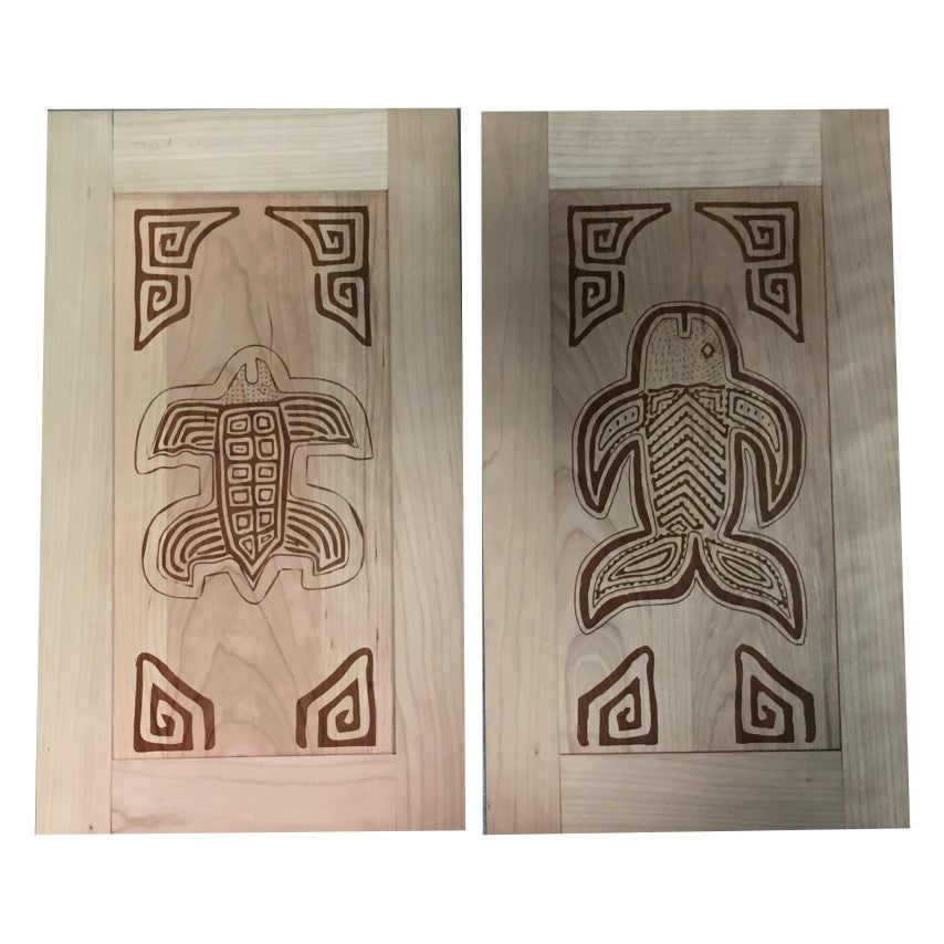 CABINET DOOR ENGRAVING