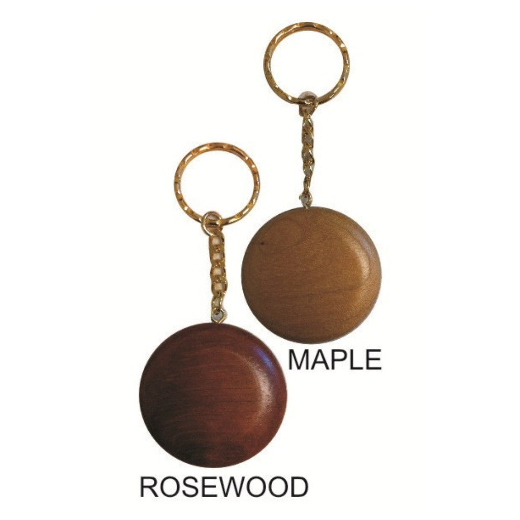 Keychain Wood