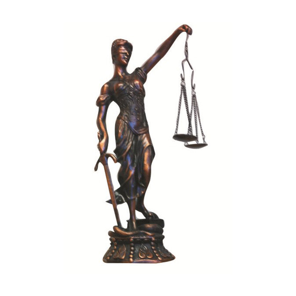Lady Justice 17""