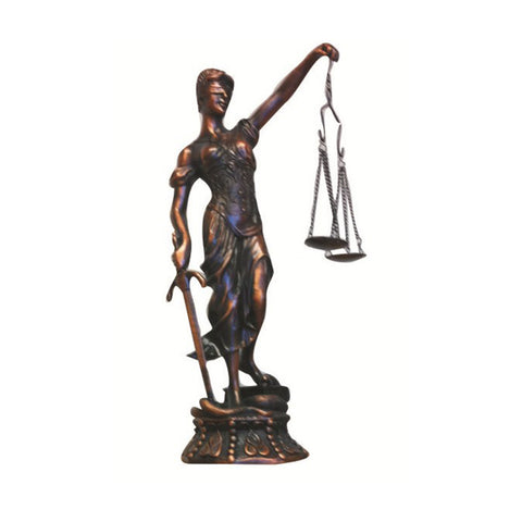 LADY JUSTICE - 17""