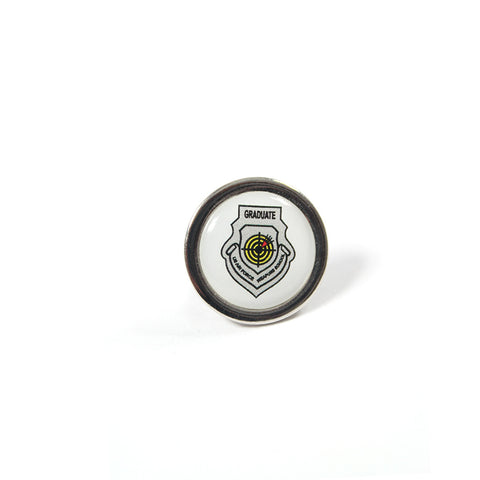 WEAPONS SCHOOL ROUND LAPEL PIN