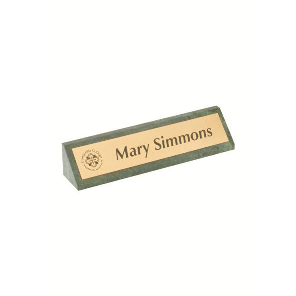 Nameplate Marble Plate