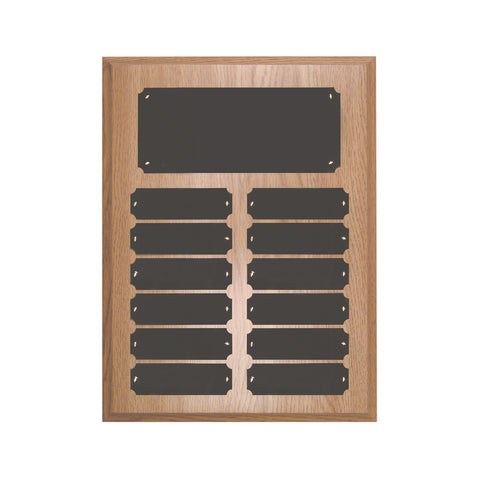 LIGHT FINISH PERPETUAL PLAQUE