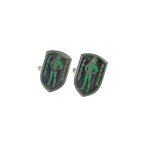 JOLLY GREEN CUFFLINKS