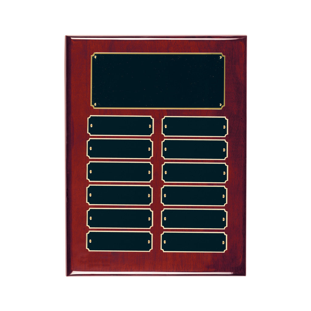 Rosewood Piano Plaque
