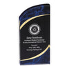 Rounded Marbleized Award