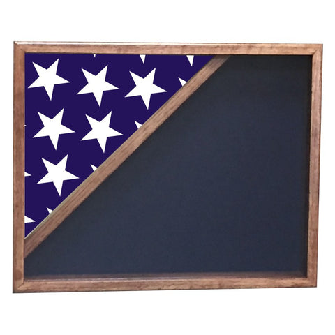 CORNER FLAG SHADOW BOX