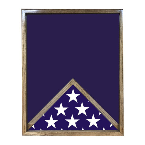 FLAG BOTTOM SHADOW BOX