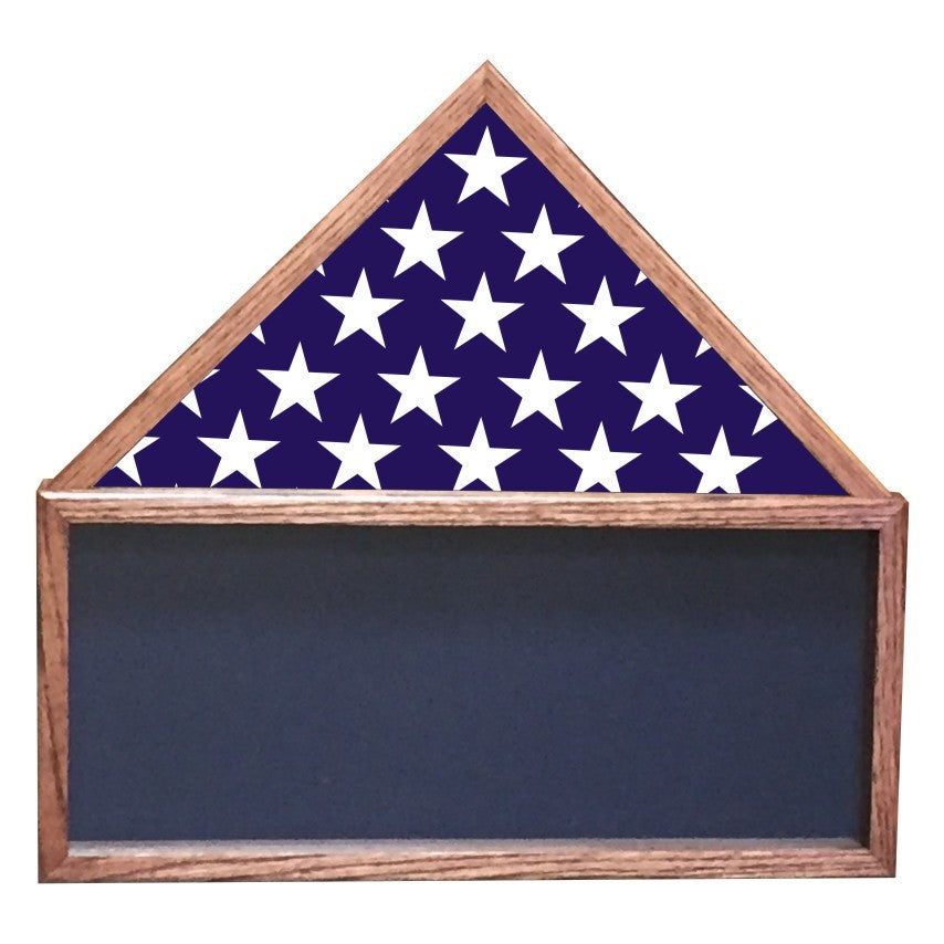 FLAG TOP SHADOW BOX