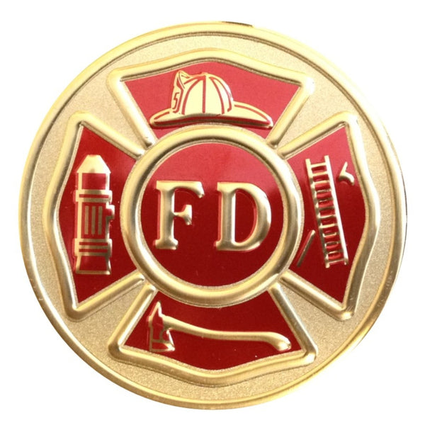 Fire Department Medallion Insert Lazer Ladies