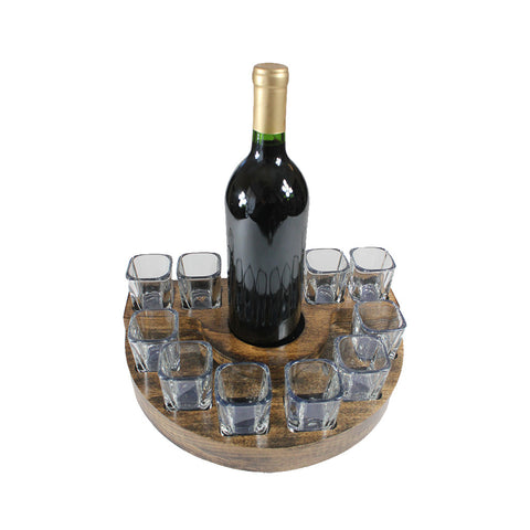 SQUARE SHOT GLASS DRINK SET