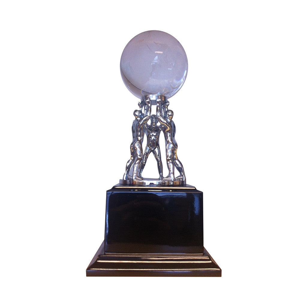 Teamwork Crystal Globe