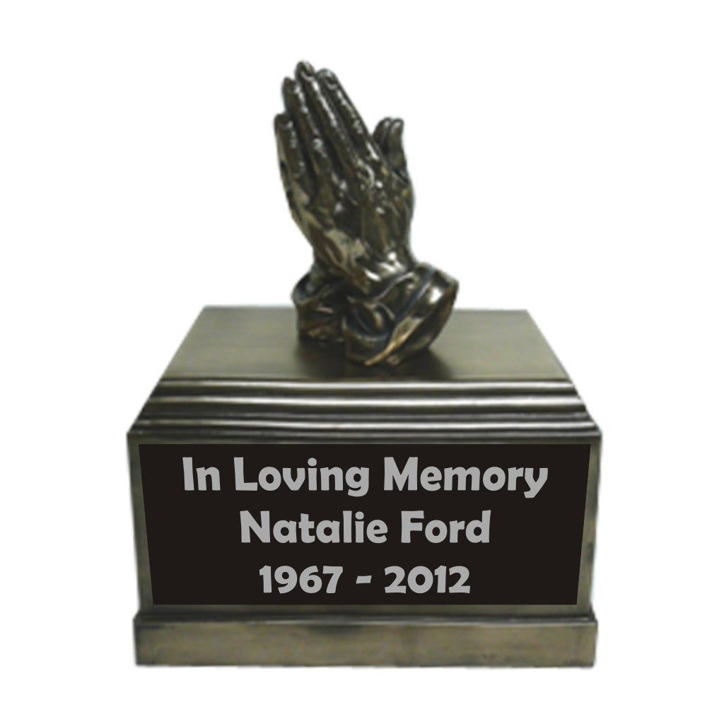Prayer Hands Urn