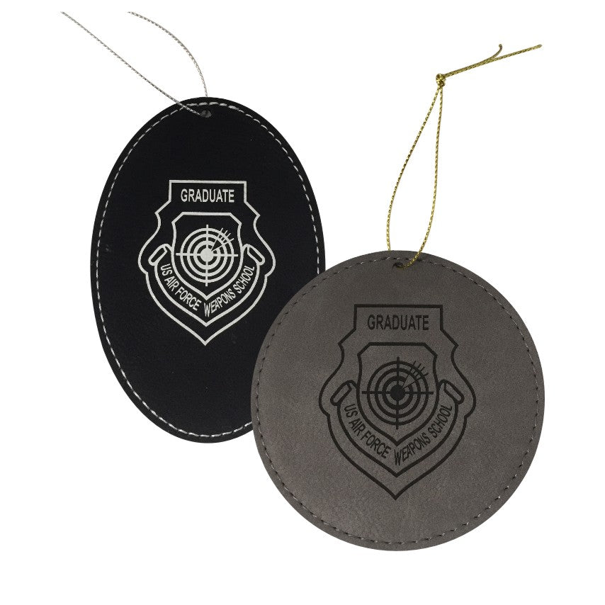 WPS LEATHERETTE ORNAMENTS