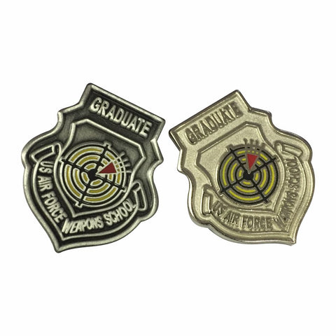 WEAPONS SCHOOL LAPEL PIN - COLOR