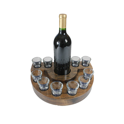 ROUND SHOT GLASS DRINK SET