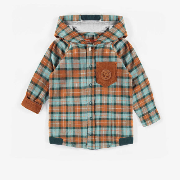 Souris Mini Hooded Flannel