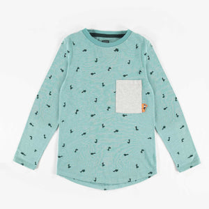 Souris Mini Teal Long-Sleeve