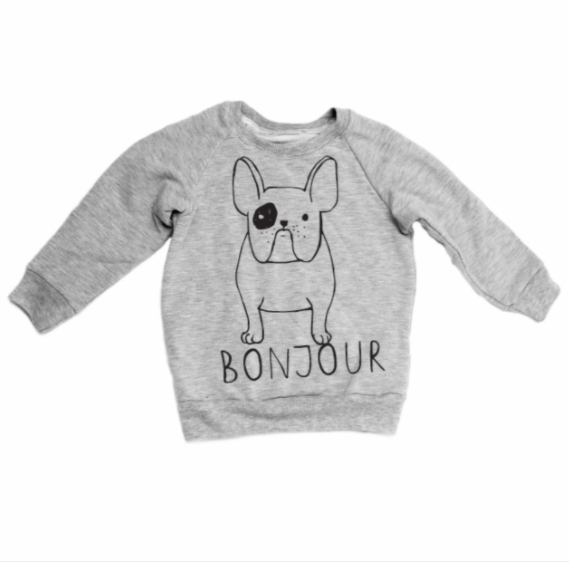 Portage & Main Frenchie Raglan *More Colours Available