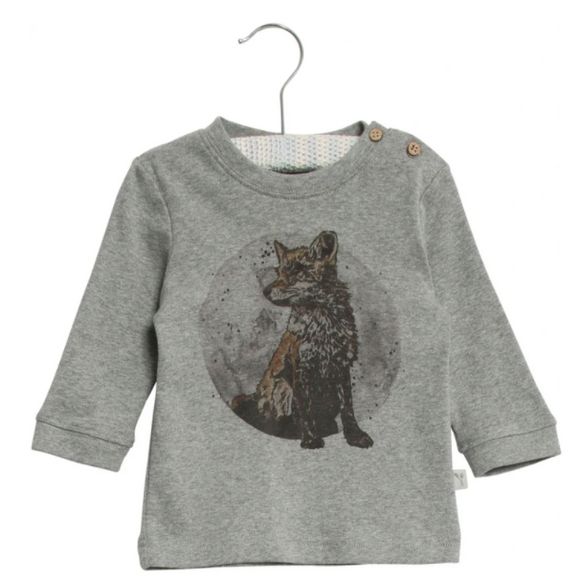 Wheat Infant Fox T-Shirt