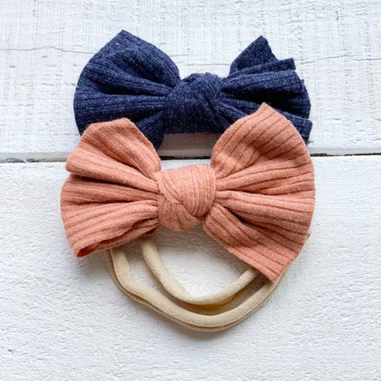 Mini Bretzel Duo Fluffy Headband