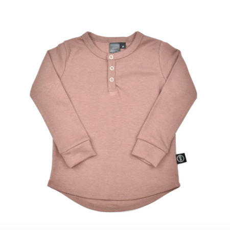 Wooly Doodle Thermal Henley